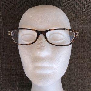 Tiffany Tortoise Rhinestone Rx Eyeglasses Frames